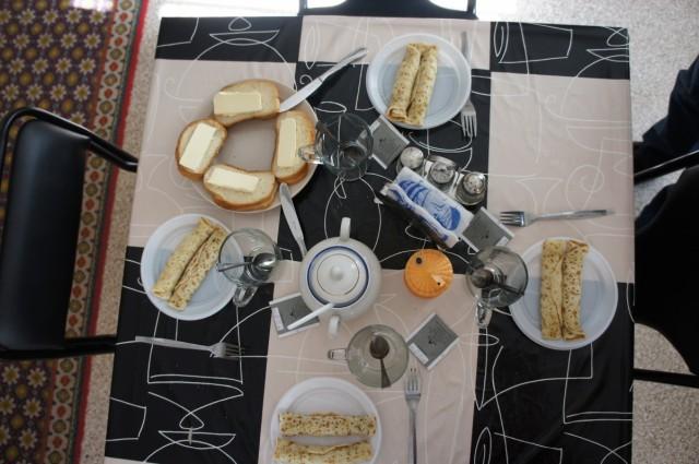 завтрак в Вологодском гэсте