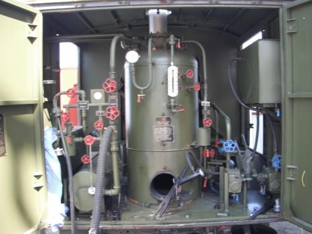 """тепловой агрегат с двигателем """"солдат-мотор"""""""