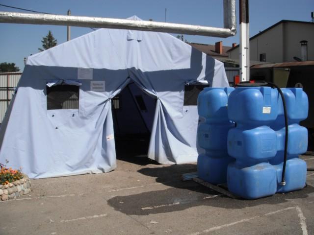 баня с запасом воды 2тн