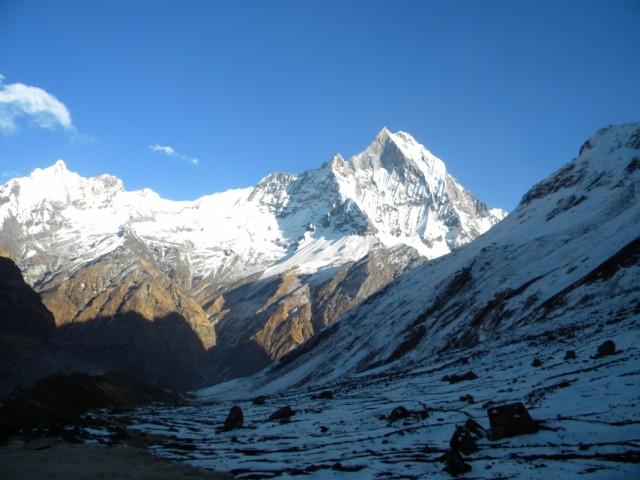 массив священной горы Мачапучаре с АВС