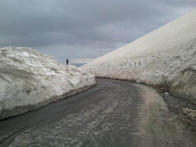 Дорога на перевал, Высота больше 4000м