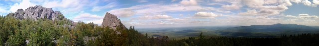 Панорама с Гольцов