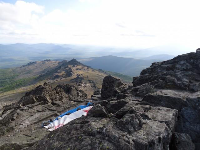 Флаг на вершине