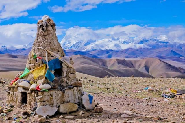 Где-то  в Тибете