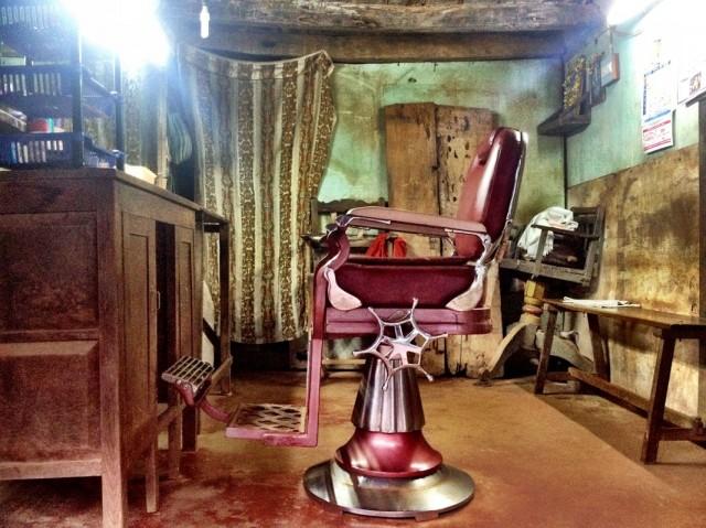 Кресло межгалактического парикмахера