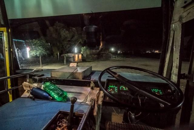 рабочее место водителя Автобуса