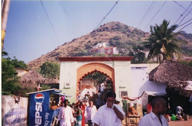 Храм Нрисинги на горе