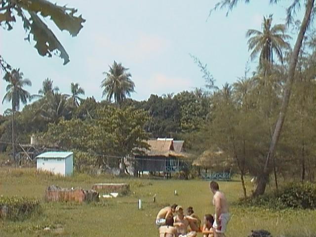 бунгало на островах. кхмер