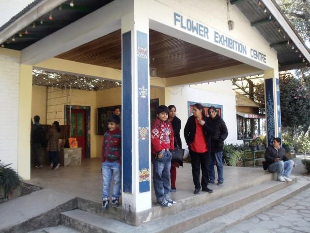 Выставочный центр, где в конце февраля этого года пройдет межденародная цветочная выставка. Сейчас внутри экспозиция орхидей..Очень красиво!