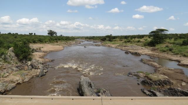 Река Мара. Граница с Танзанией