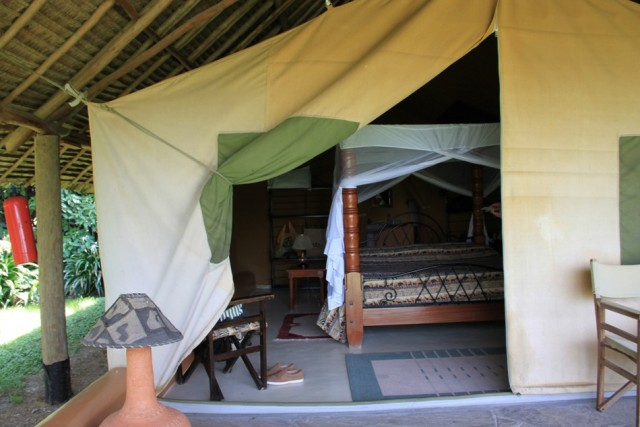 Накуру. Палатка внутри