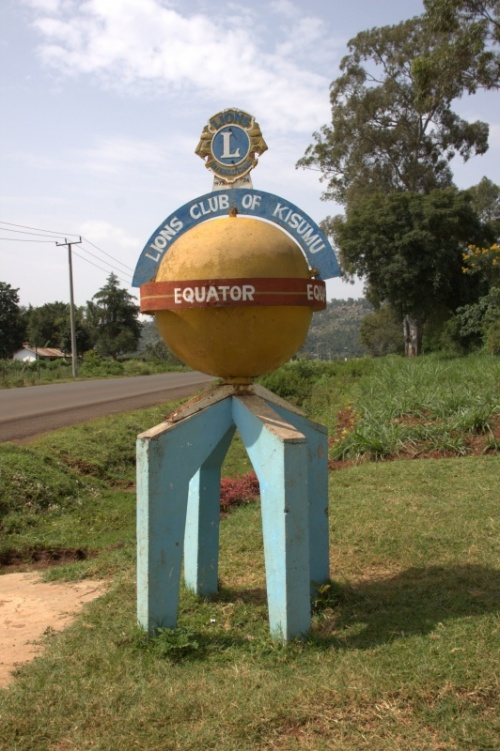 собственно отметка экватора