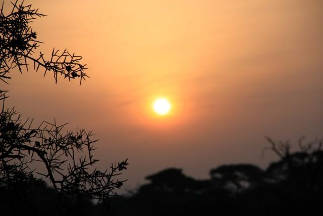 Рассвет в Амбосели