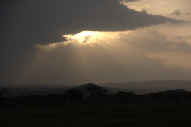 закат в Накуру