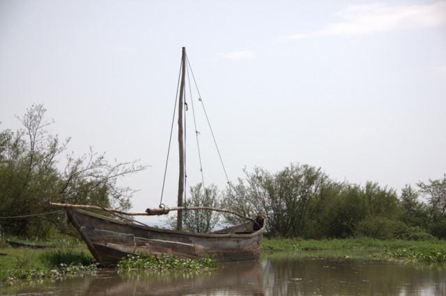 озеро Виктория, на таких лодках привозят уголь