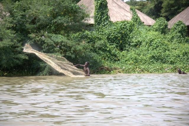 рыбаки на озере Виктория