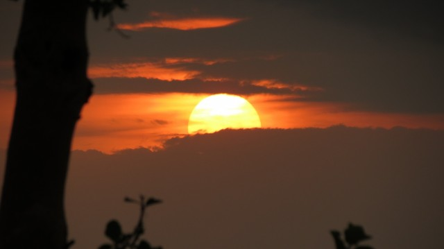 закат в Кисуму