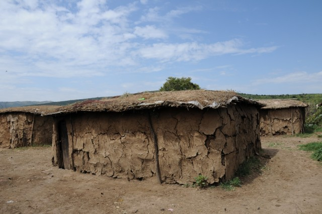 маасайские домики