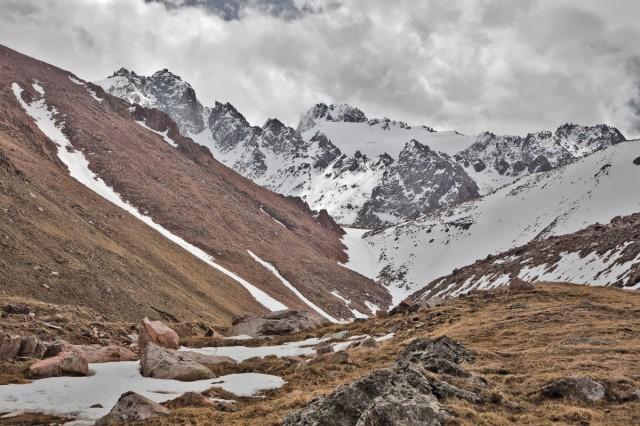 Под вершинами Малого Алматинского Ущелья