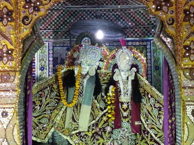 Кришна и Радха в Темпле