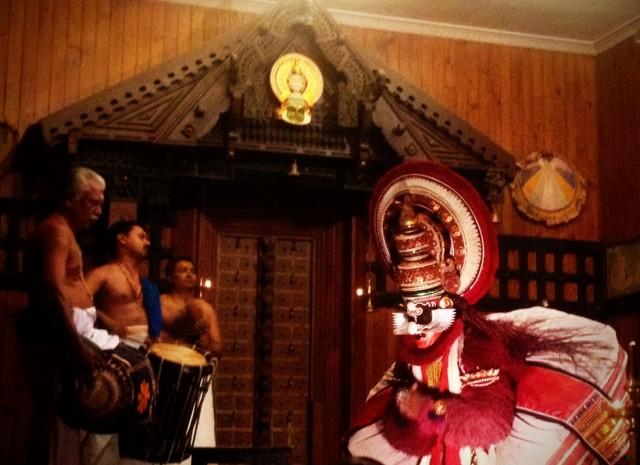 Катхакали. Основное действо. 04