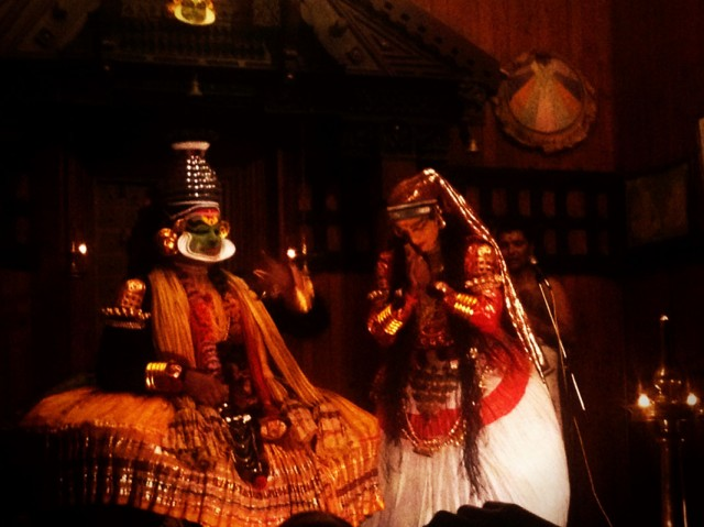 Катхакали. Основное действо. 05