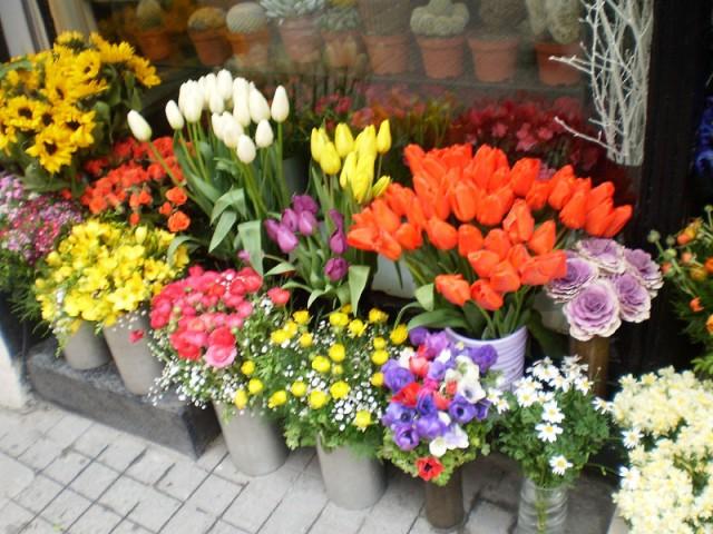 Цветочный базар за Новой Мечетью
