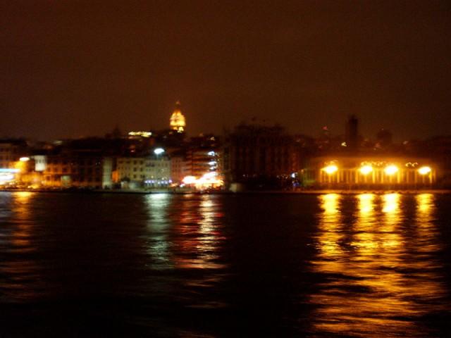 Ночной залив...