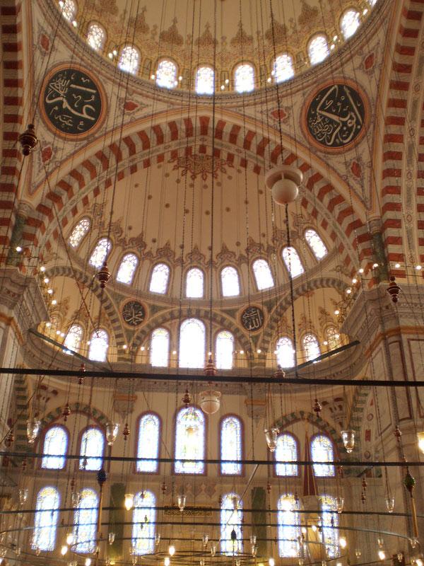В комплексе Фатих (Мечеть Завоевателя)