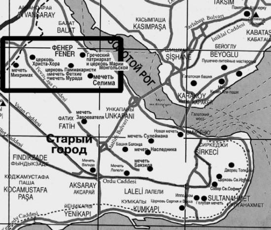 Вот так, примерно, на карте))