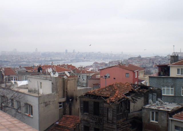 Старинные трущобы Стамбула