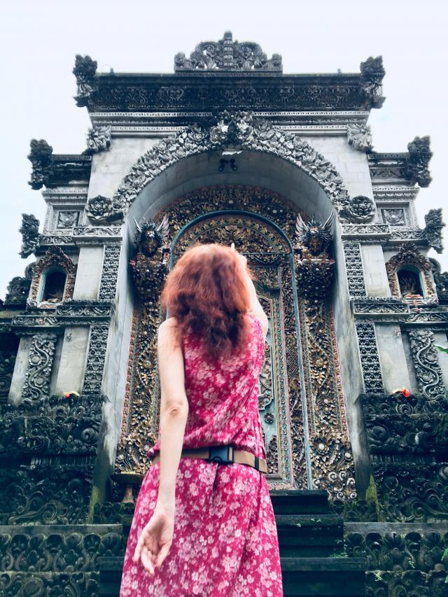 Оказывается, за окном Бали!