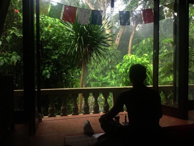 Бали. Наша пещера в джунглях