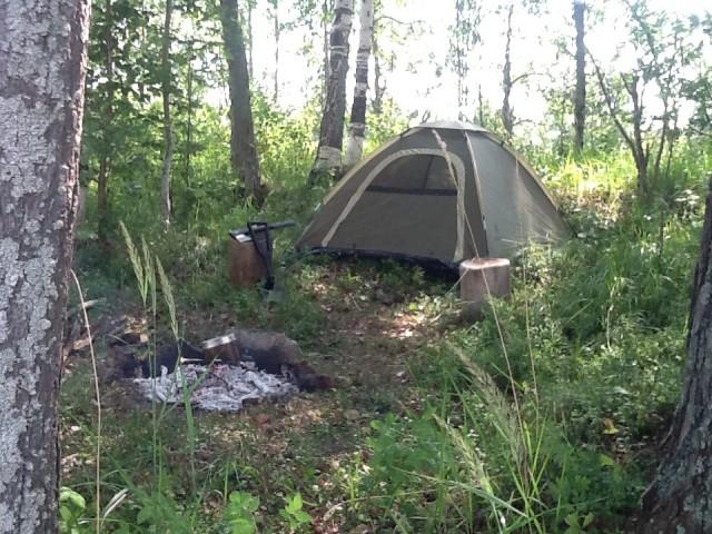 Вот моя палатка - вот мой дом родной!