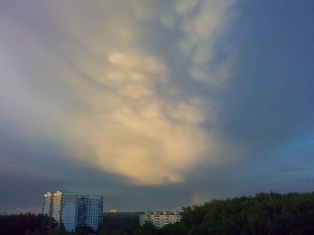 Облако на заказ - смотрИте кто там)))