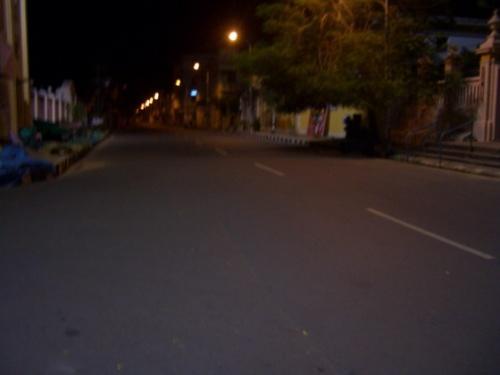 вечер в Понди