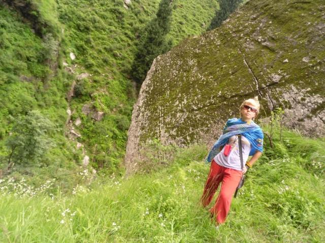 на пути к водопаду