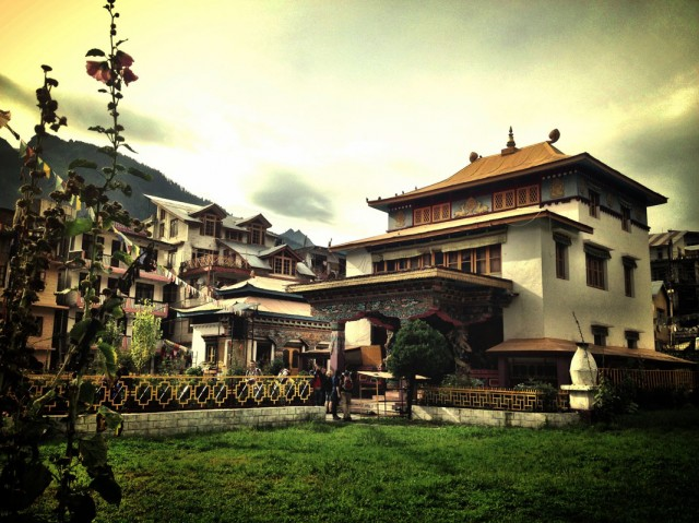 Ньингмапинский монастырь в Манали 01