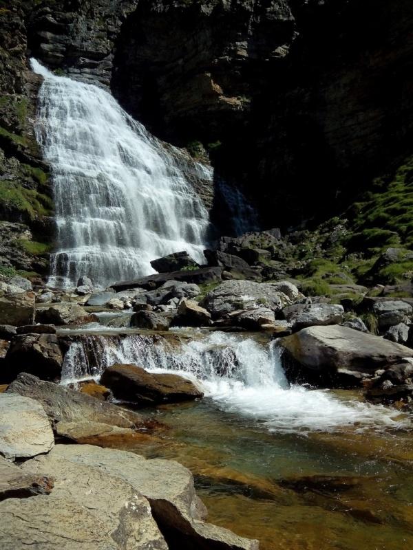 водопад Cola de caballo