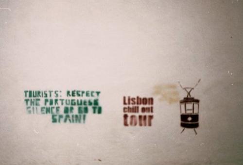 Граффити в Лиссабоне
