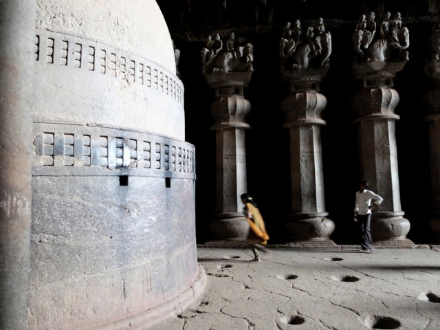 Пещеры. Главный храм