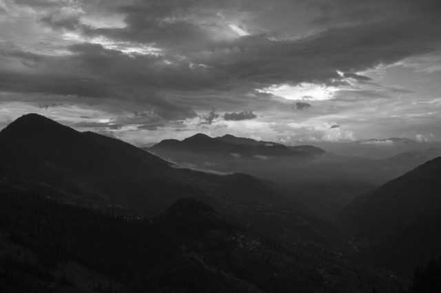 Вечер над долиной