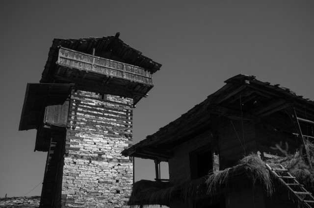 Традиционные дома и башни Химачала