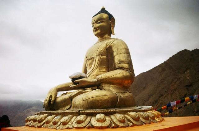 Будда в Хемисе