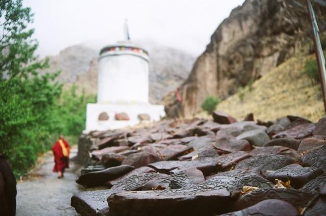 по пути в монастырь на горе1