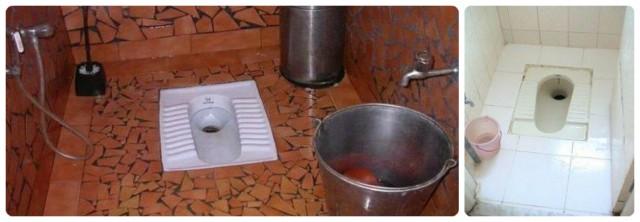 Indian public toilet