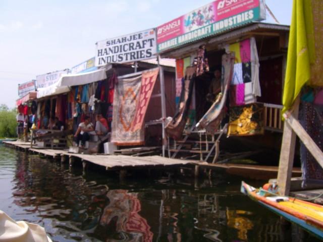 магазинчики на воде