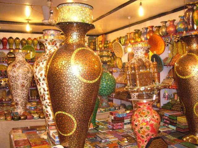 кашмирские ремёсла - всё из папье-маше