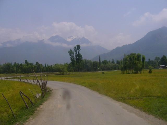 дорога в Кашмире