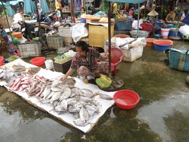 На рынке в Ратьзя